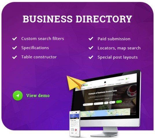 Rehub Theme Directory options
