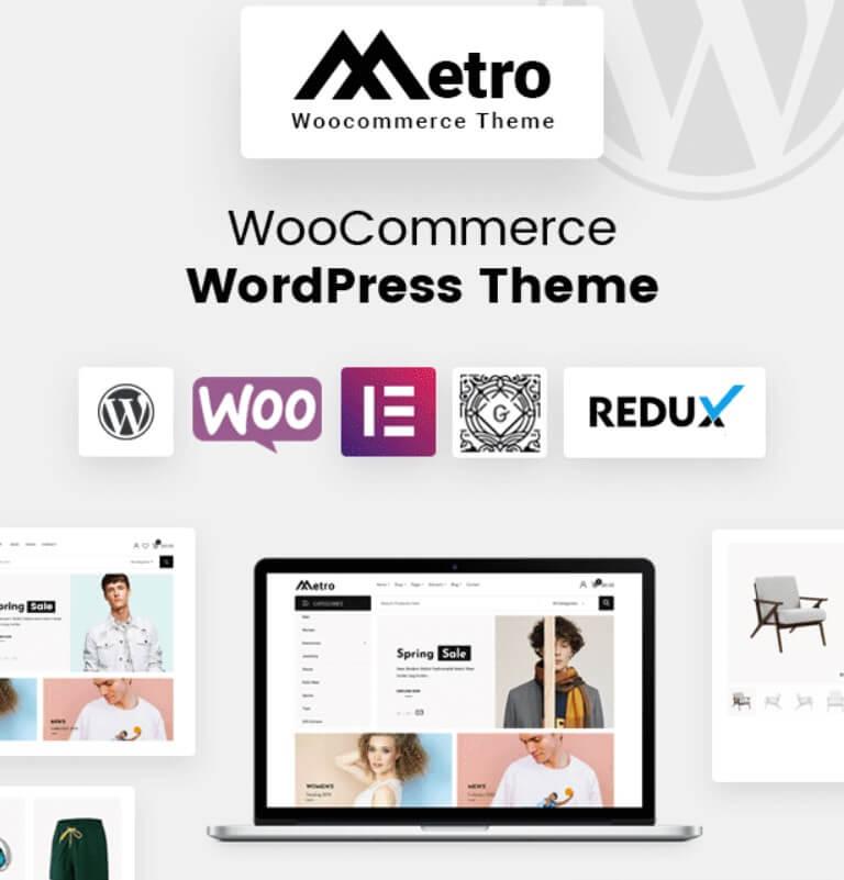 Metro WooCommerce Theme