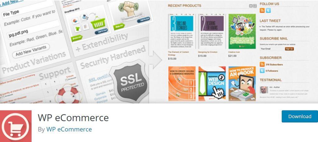 WP-eCommerce-plugin