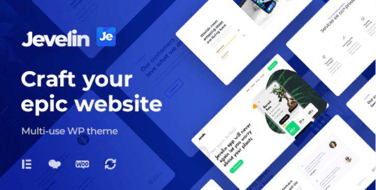 Jevelin WordPress Theme Review