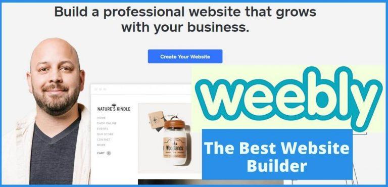 Best Weebly websites the easiest website builder